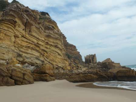 The sandy cove at Praia Figueira